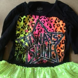 Justice Dress Size 12 Bright colors